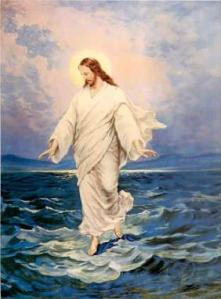 Yeshua Walks On Water