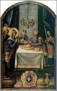 Tenecki — Circumcision of Christ (Monastery of Krusedol)