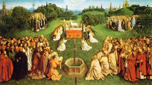 Van Eyck — De Aanbidding van het Lam G'ds
