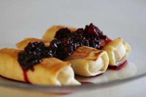 Blintzes, a popular Shavuot dessert