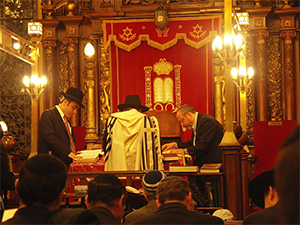 Keriat Torah While